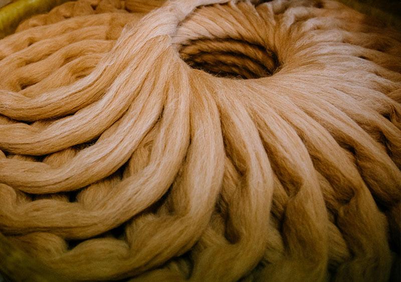 Camelhair fibre at Seal International